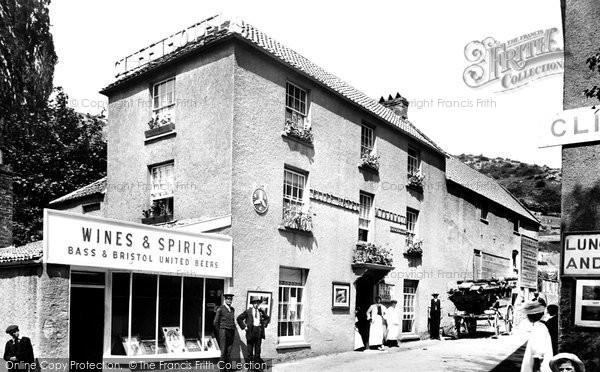 Cheddar, Cliff Hotel 1908