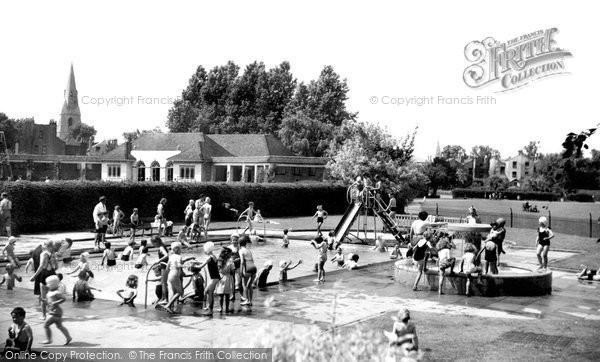 Cheltenham Sandford Park Open Air Children 39 S Pool Francis Frith