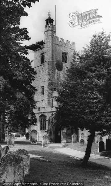 Cheshunt, St Mary's Parish Church c.1965