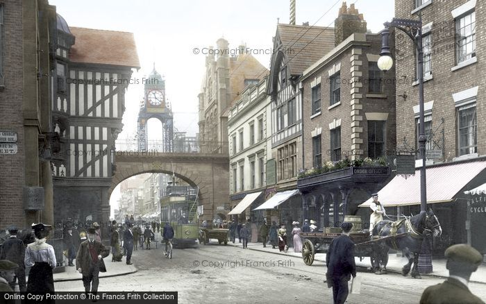 Chester, Eastgate 1903