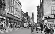 Chesterfield, High Street 1952