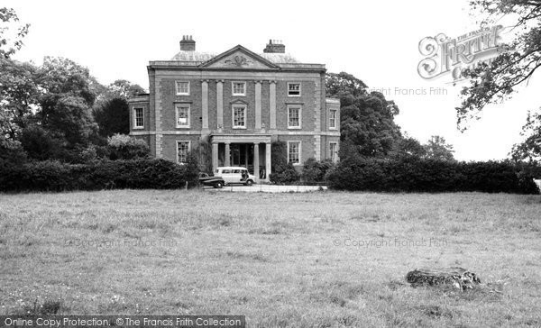 Chiselhampton, House c.1960