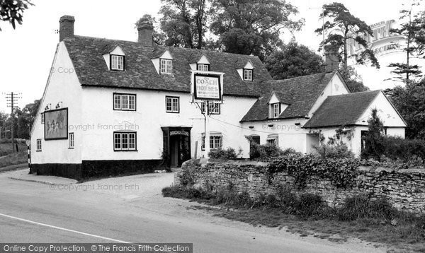 Chiselhampton, The Coach And Horses c.1960