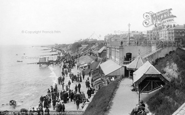 Clacton On Sea, From Pier, Looking West 1912