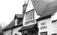 Claverdon, Country Stores and Post Office c1955