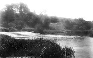 Cleeve Prior, Cleeve Mill, River Avon 1899