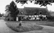 Cleeve Prior, Fir Tree Corner c.1955