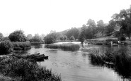 Cleeve Prior, On The Avon, Near Cleeve Mill 1899