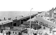Cleveleys, the Arena and Promenade c1955