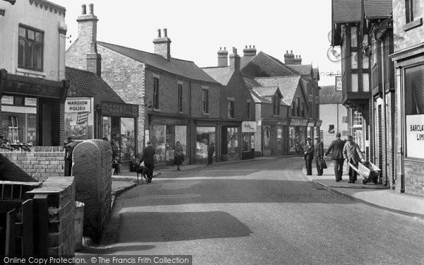 Clowne, Mill Street c.1950