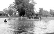 Colchester, Boating Pool c.1960