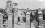 Colchester, Castle Entrance Gates 1895