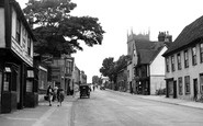 Colchester, Hythe Hill c.1955