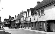 Colchester, Old Houses, East Street c.1955