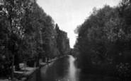 Colchester, River Colne And Porth Bridge 1921