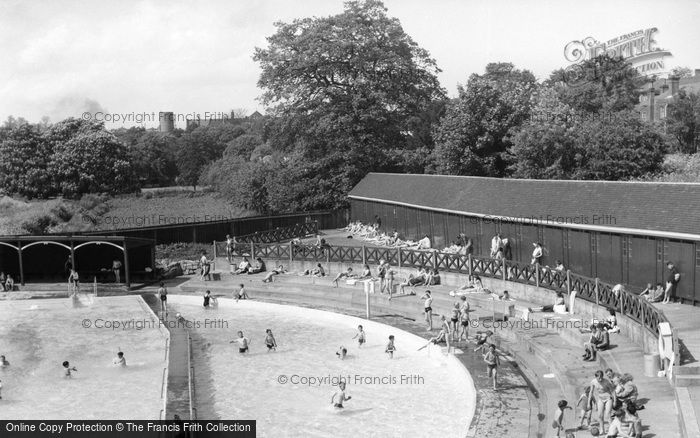 Colchester The Swimming Pool Francis Frith