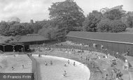 Colchester, the Swimming Pool c1960