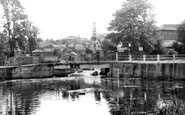 Colchester, The Weir c.1960