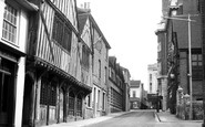 Colchester, West Stockwell Street c.1960