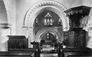 Compton, Church Interior 1906