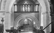 Compton, Church Interior 1912