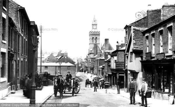Congleton, Lawton Street 1898