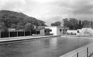 Congleton, the Baths c1950