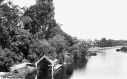 Cookham, From The Bridge 1899