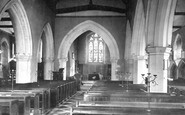 Cookham, Holy Trinity Church Interior 1890