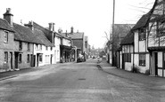 Cookham, The Village From The Green c.1955