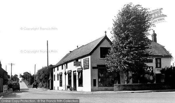Photo of Coolham, Post Office and Stores c1950