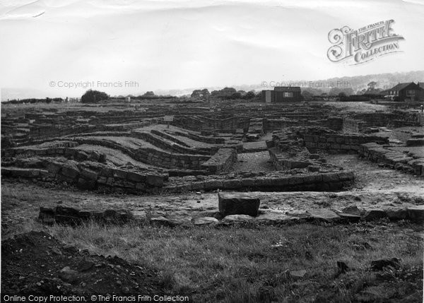 Corbridge, Corstopitum Camp c.1955