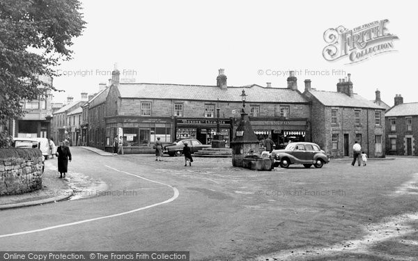 Corbridge, Market Place c.1955