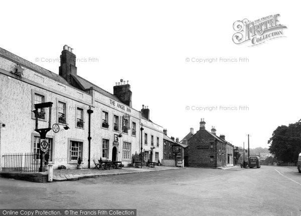 Corbridge, The Angel Inn c.1950