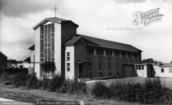 Corby, St Brendan's Church c.1965