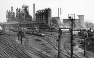Corby, Stewarts and Lloyds Steel Works c1955