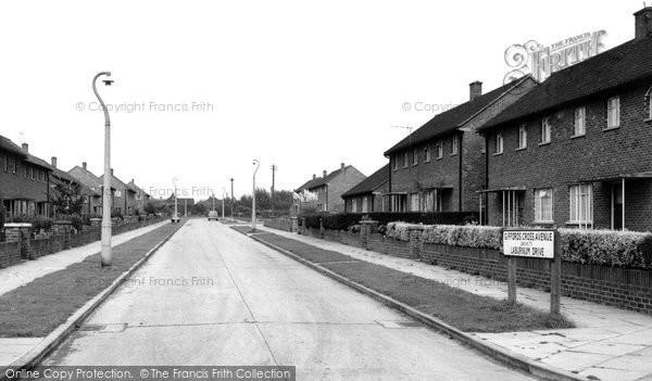 Corringham, Giffords Cross Avenue c.1960