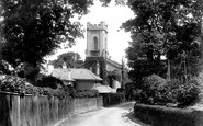 Cowes, Holy Trinity Church 1908