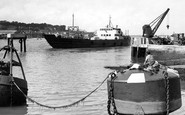 Cowes, the Harbour c1955