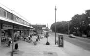 Cowplain, Shopping Parade c1965
