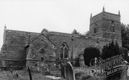 Photo of Creaton, St Michael and All Angels Church c1955
