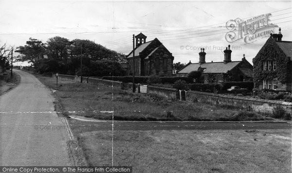 Cresswell, The Village c.1960