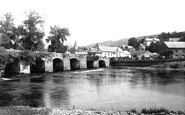Crickhowell, the Bridge 1893