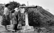 Cromer, Family at the Telescope c1955