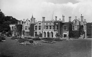 Cromer, Hall, gardens front 1925