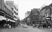 Croydon, Church Street c.1955