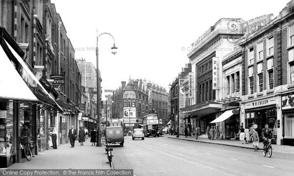 Croydon, Davis Theatre, High Street c.1955
