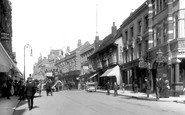 Croydon, High Street 1900