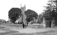 Croydon, St John's Church c.1890