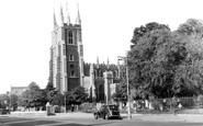 Croydon, St John's Church c.1950
